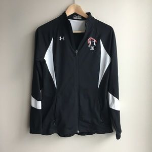 Under armour zip front long sleeve athletic Jacket